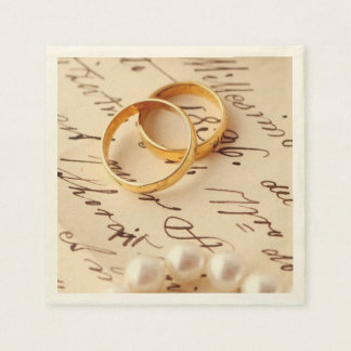 Romantic Paper Napkin