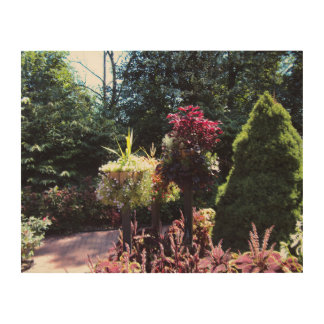 Romantic Place Wood Canvases
