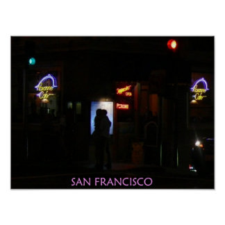 Romantic San Francisco Poster