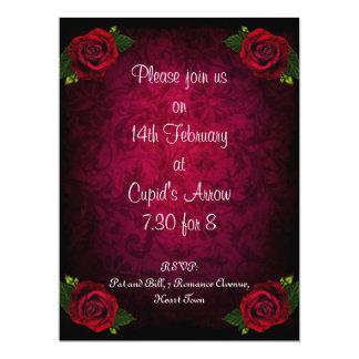 Romantic Valentine's Ball Invitation