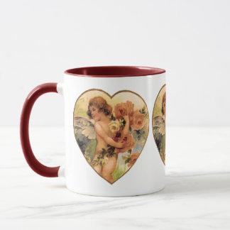 Romantic Vintage Valentines Mug