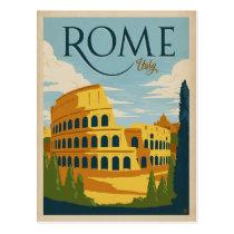 Rome, Italy Colosseum Postcard