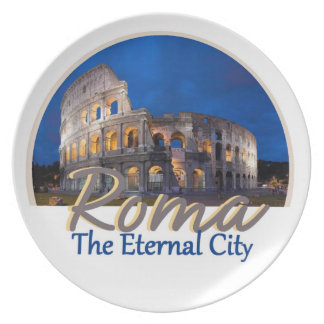 ROME Italy Plate