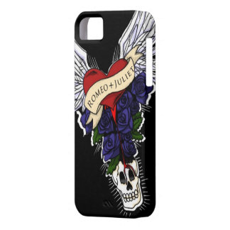 Romeo and Juliet Tattoo Design Iphone Case
