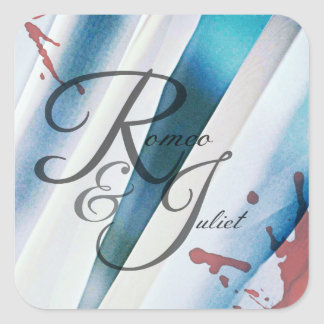 Romeo & Juliet Artwork Stickers