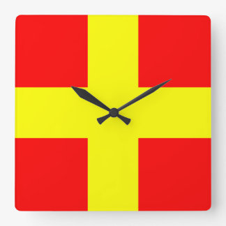 ROMEO SQUARE WALL CLOCK