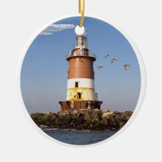 Romer Shoal Lighthouse Christmas Ornament
