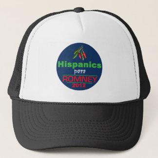 Romney Latinos Trucker Hat