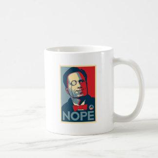 Romney NOPE !!! Coffee Mugs
