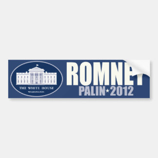 Romney Palin 2012 Car Bumper Sticker