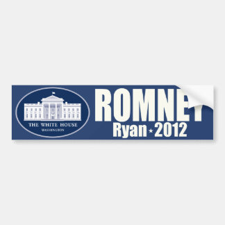 Romney - Ryan - 2012 Car Bumper Sticker