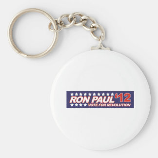 Ron Paul - 2012 election president politics Basic Round Button Key Ring