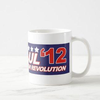 Ron Paul - 2012 election president politics Basic White Mug