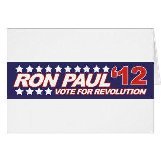 Ron Paul - 2012 election president politics Greeting Card