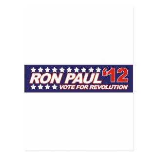 Ron Paul - 2012 election president politics Postcard