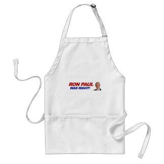 Ron Paul - 2012 election president vote Adult Apron