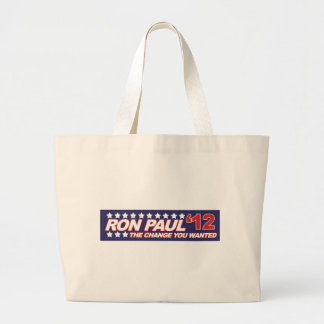 Ron Paul - 2012 election president vote Tote Bags