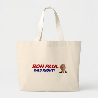 Ron Paul - 2012 election president vote Bags
