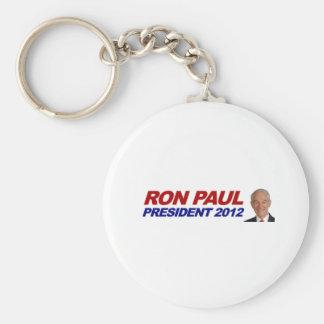 Ron Paul - 2012 election president vote Basic Round Button Key Ring