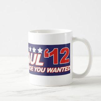 Ron Paul - 2012 election president vote Basic White Mug