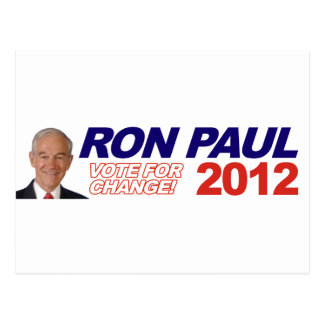 Ron Paul - 2012 election president vote Post Cards