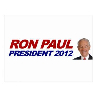 Ron Paul - 2012 election president vote Postcards