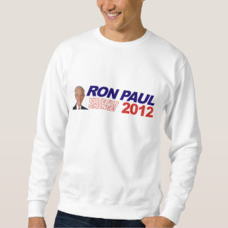Ron Paul - 2012 election president vote Pull Over Sweatshirts