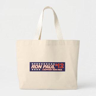 Ron Paul - 2012 election president vote Bag