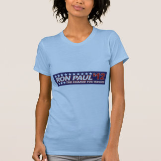 Ron Paul - 2012 election president vote Tee Shirt