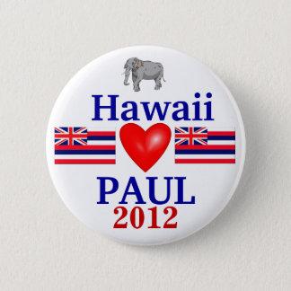 Ron Paul 2012 Hawaii 6 Cm Round Badge