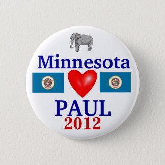 Ron Paul 2012 Minnesota 6 Cm Round Badge