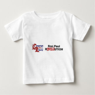 Ron Paul Campaign For Liberty Revolution Baby T-Shirt