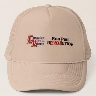 Ron Paul Campaign For Liberty Revolution Trucker Hat