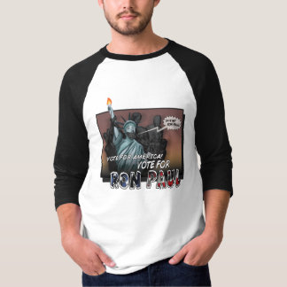 Ron Paul Comic Book Shirt