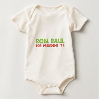 RON PAUL FOR PRESIDENT BABY BODYSUIT