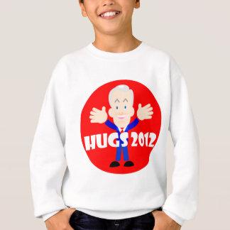 Ron Paul hugs 2012 Sweatshirt