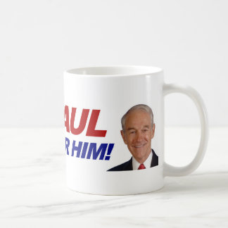 Ron Paul I voted for him - election president Coffee Mug