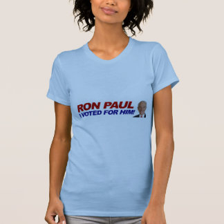 Ron Paul I voted for him - election president Shirt