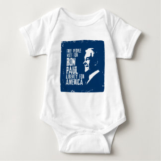 Ron Paul Liberty for America Baby Bodysuit