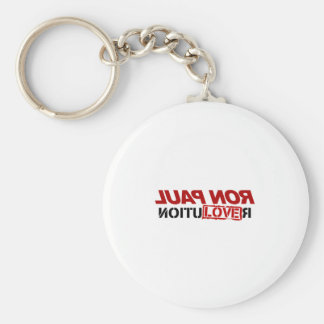 Ron Paul Love - 2012 election president vote Basic Round Button Key Ring