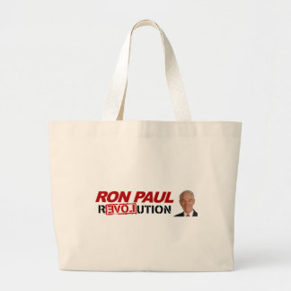 Ron Paul revolution - election president vote Bags