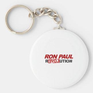 Ron Paul revolution - election president vote Basic Round Button Key Ring