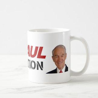 Ron Paul revolution - election president vote Basic White Mug
