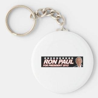Ron Paul USA 2012 - election president vote Basic Round Button Key Ring
