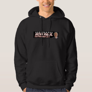 Ron Paul USA 2012 - election president vote Hoodie