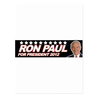 Ron Paul USA 2012 - election president vote Postcard