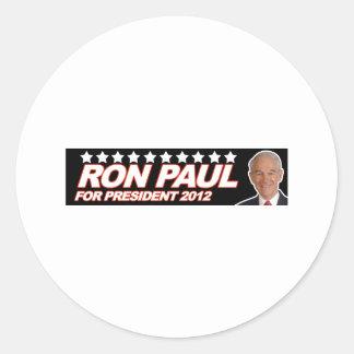 Ron Paul USA 2012 - election president vote Round Sticker