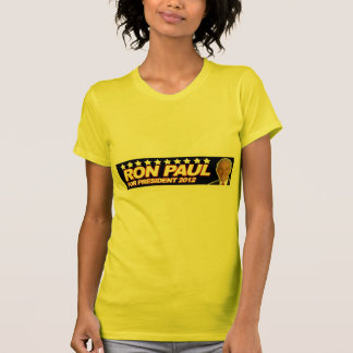 Ron Paul USA 2012 - election president vote T-shirt