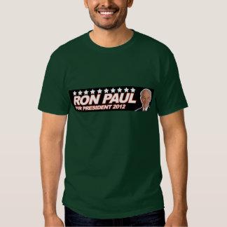 Ron Paul USA 2012 - election president vote Tshirts