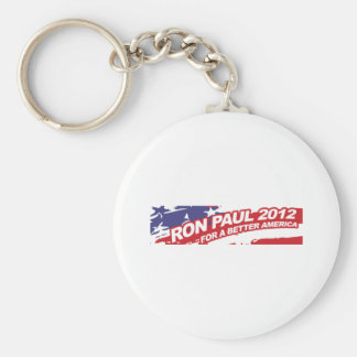 Ron PaulFor 2012 - election president vote Basic Round Button Key Ring